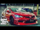 Honda Civic Type R FD2 tuning - GTA V MSI GeForce GTX 1080 Ti GAMING X