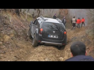Dacia Duster 4x4 in Extreme Offroad