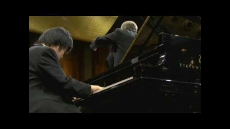 Nobuyuki Tsujii 辻井伸行 2009 Cliburn Competition FINAL CONCERT Chopin No.1,part 3-4