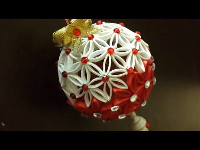 Paper quilling Christmas ornament part 1/ Christmas bauble