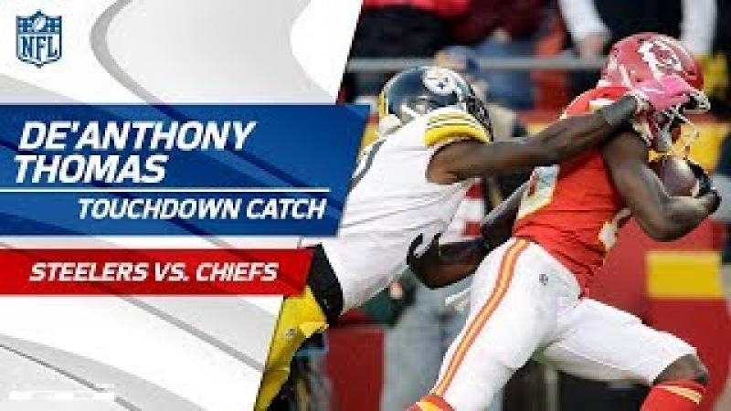 De'Anthony Thomas' End Zone Flip for 57-Yd TD from Alex Smith!   Steelers vs. Chiefs   NFL Wk 6