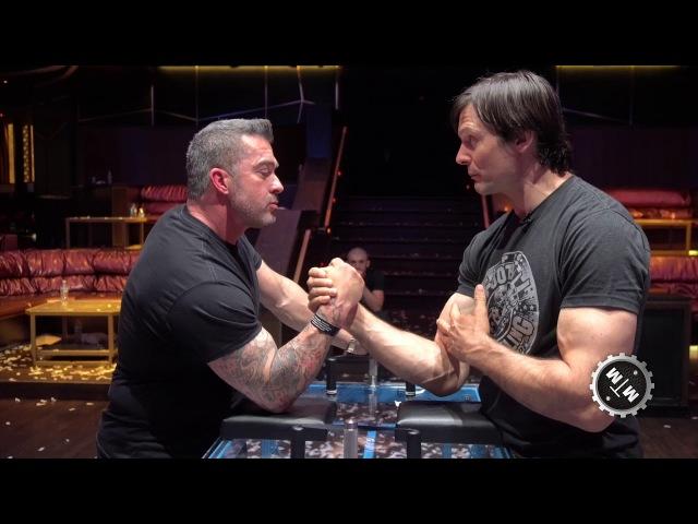 What's The Secret To Arm Wrestling? Devon Larratt with Skip Bedell