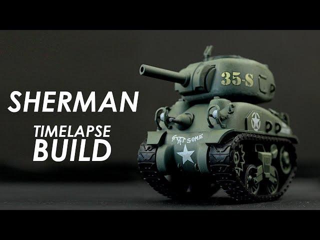 Meng Sherman Build Review - World War Toons Model Kit