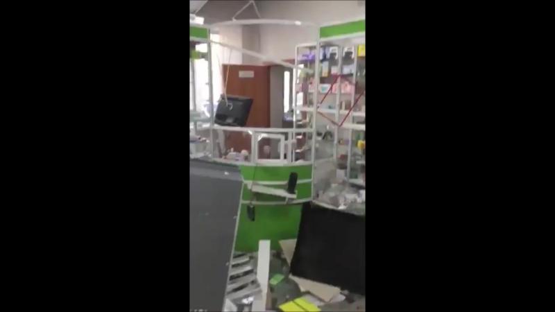 В Боровском грабители взорвали банкомат