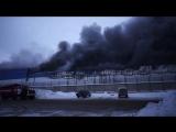 Пожар во Владимире ул.Тракторная-43