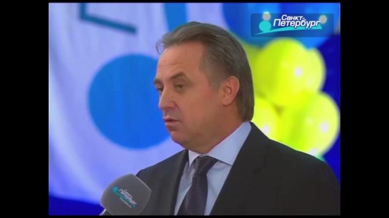 В.Л.Мутко и Ю.В. Авдеев в гостях у передачи