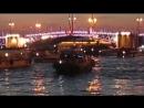 Развод Троицкого моста.