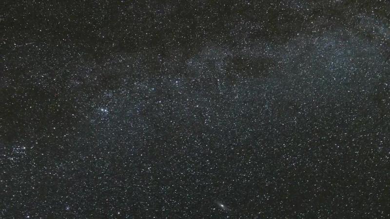 Ночное небо. Съёмки с плато Бермамыт, КЧР.