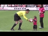 Monkey presents match ball ahead of J League clash