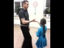 Олег и Ульяна Науменко ! Папа и дочка , сальса !