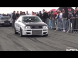1350HP Audi S2 R30 Turbo Coupe w_ HOOD EXHAUST! INSANE LAUNCH CONTROLS