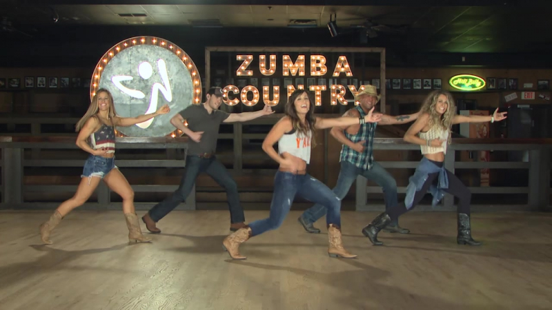 Zumba Country - 08 Make You Mine - Country Rock - Cues On