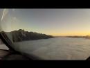 Landing. Queenstown, New Zealand.