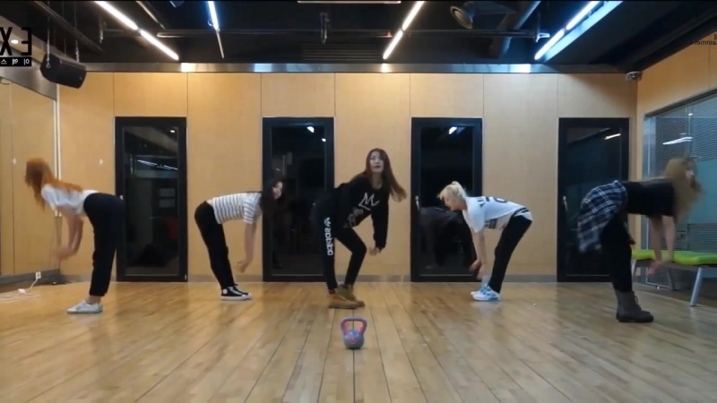 InkedEXID Ah Yeah mirrored Dance Practice
