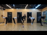 InkedEXID Ah Yeah mirrored Dance Practice