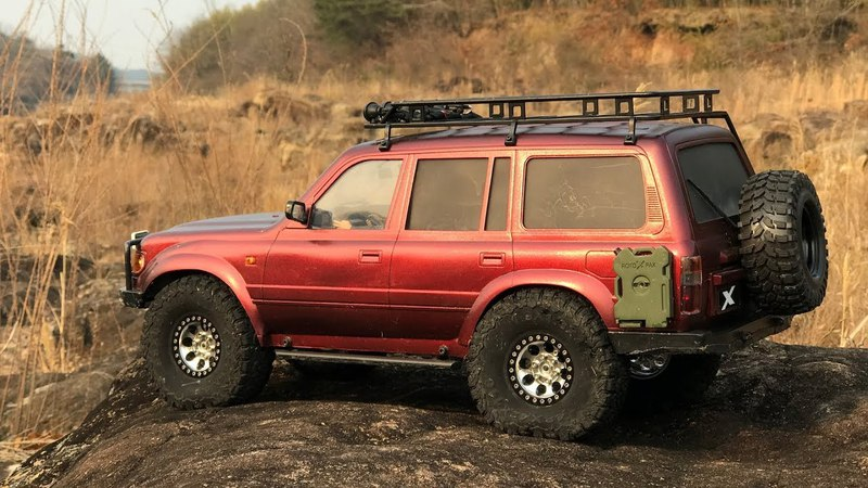 RCModelex MEX | Toyota Land Cruiser 80 (LC80) | Off-Road Trail On The Rocks