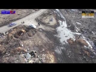 Чернухино.20 февраля,2015.Поселок после освобождения от ВСУ.