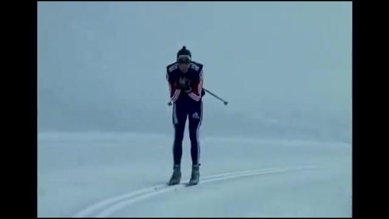 Преодоление спусков на беговых лыжах различными способами