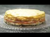 Трехслойный торт – ОМЛЕТ! Как приготовить омлет на сковороде 3 способа  [Семейные рецепты]