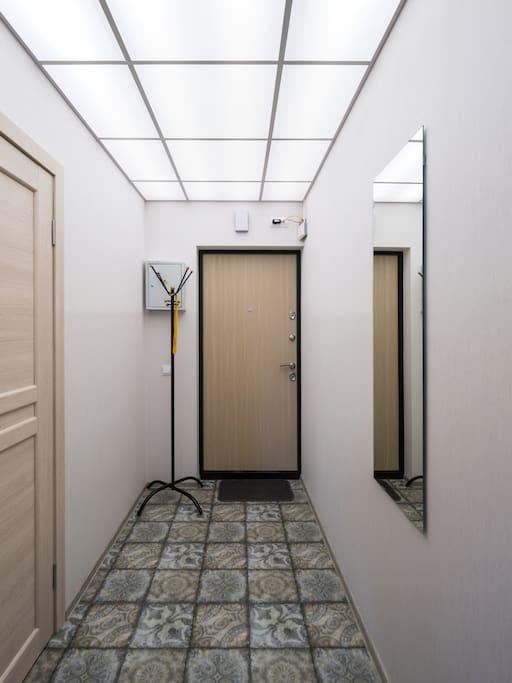 Гостевые апартаменты 26 м в Санкт-Петербурге.
