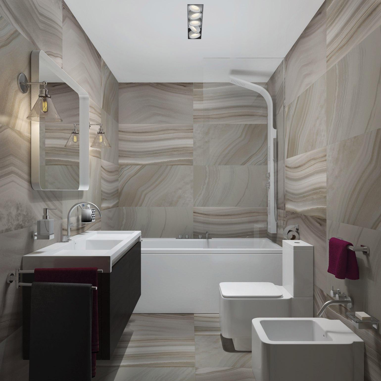 Проект квартиры 41-45 м (разные данные на плане и на сайте дизайнера) под лофт.