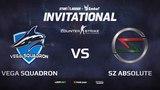 Vega Squadron vs SZ Absolute, StarLadder ImbaTV Invitational Chongqing