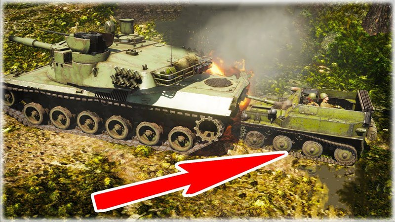 Embarrassing situations ASU-57 vs ( Leopard 2 k - M1 Abrams - Chieftain... ) War Thunder GamePlay