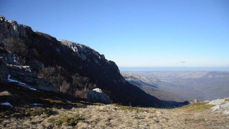 6.01.18г. Чатыр-Даг - Ангар-Бурун(1453 метра)