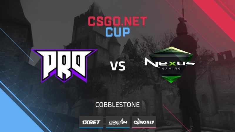 Pro100 vs Nexus de cbble Cup 1