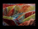 The Most Beautiful Rainbow Mountains In China