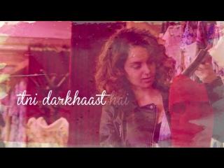 Simran Pinjra Tod Ke Lyrical Video Kangana Ranaut Sunidhi Chauhan Sachin - Jigar