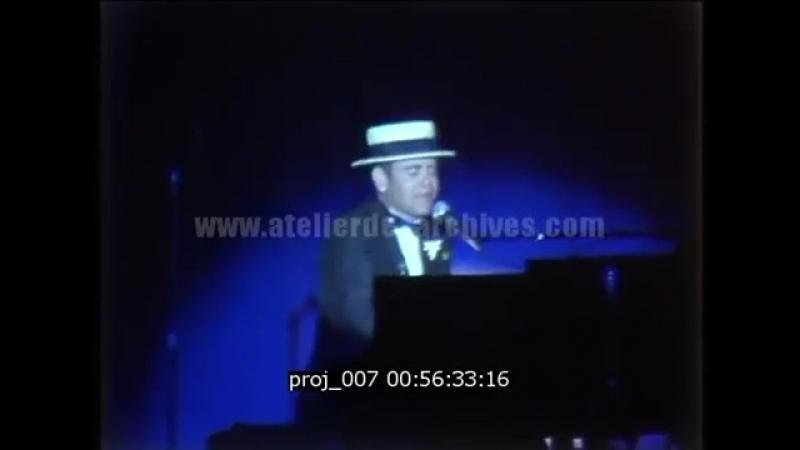 Elton John - 1984 Solo Concert in Monte Carlo