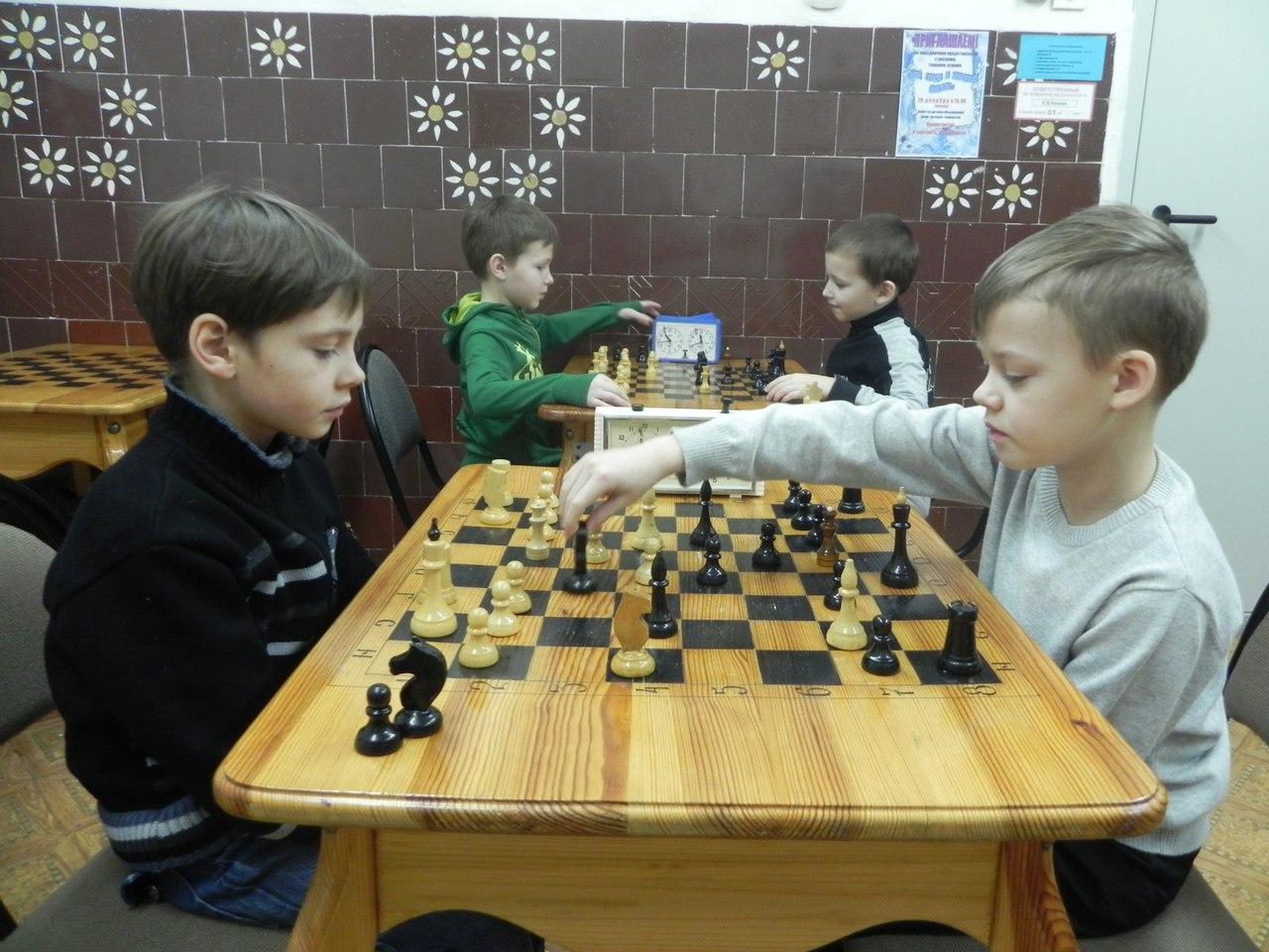 блиц - турнир по шахматам