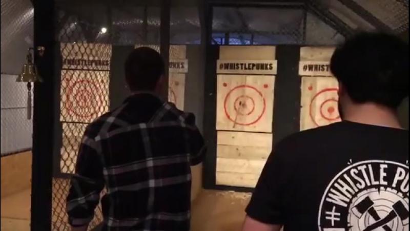 Matt Stokoe ig @mattstokoe throwing axes