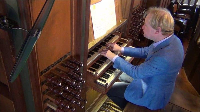 2016, 16 augustus orgelconcert Arjen Leistra Grote Kerk Schiedam
