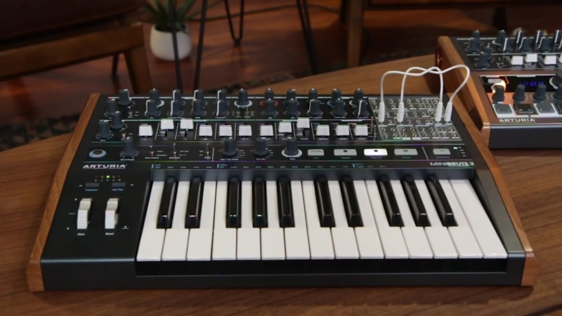 Arturia MiniBrute 2 Monophonic Analog Synthesizer