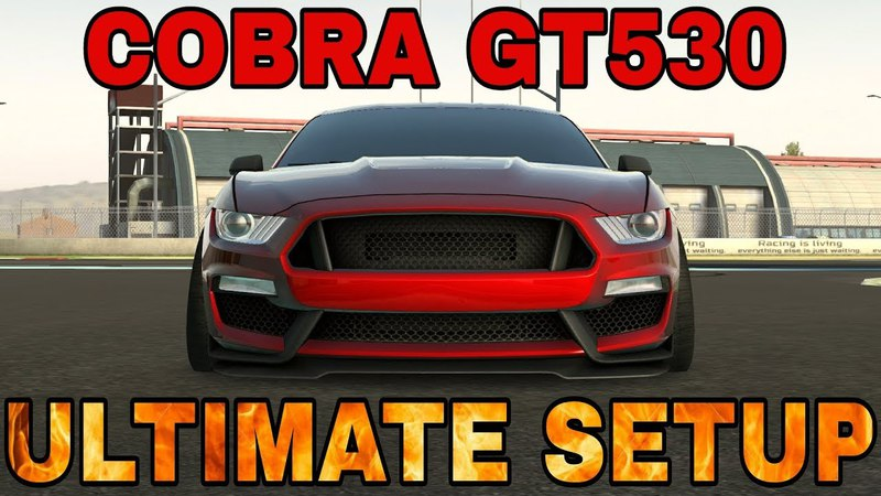 Cobra GT530 Ultimate Setup Test Drive! (Ford Mustang) CarX Drift Racing