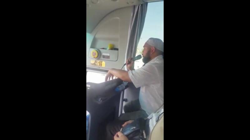 Муфтий Хабаровска Ахмад Хазрат Гарифуллин во время экскурсии по достопримечательностям Лучезарной
