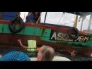 Спасение туристов с горящего катера