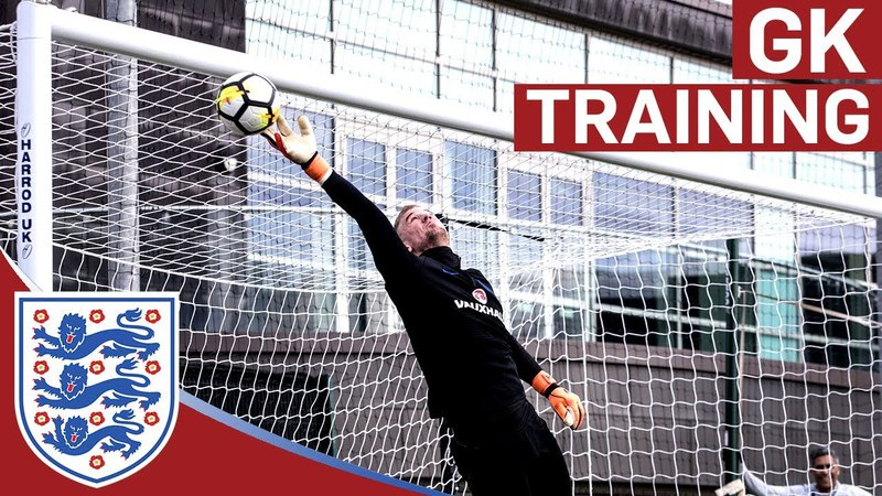 High Intensity Drills for England's Senior Goalkeepers | Goalkeeper Training