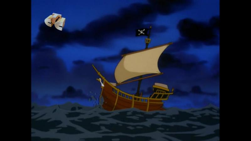 Бешеный Джек пират 4(1,2) Привидение Энгиса Дагнаббита\The Strange Case of Agnus Dagnabbit, Свет, камера Снак!