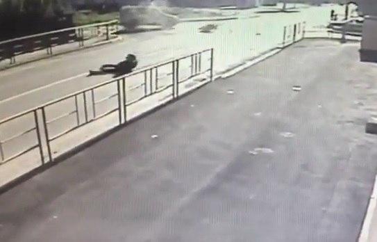 В Зеленчукской разбился мотоциклист из Псыжа