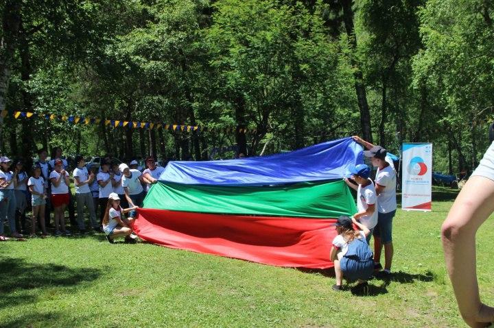 Слёт Российского Движения Школьников проходит в Зеленчукском районе