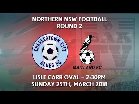 2018 NNSWF NPL Round 2 Charlestown City Blues v Maitland Magpies FC