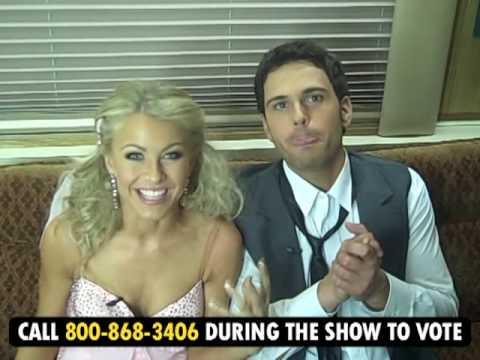 За кадром шоу Танцы со звездами 6 апреля 2009