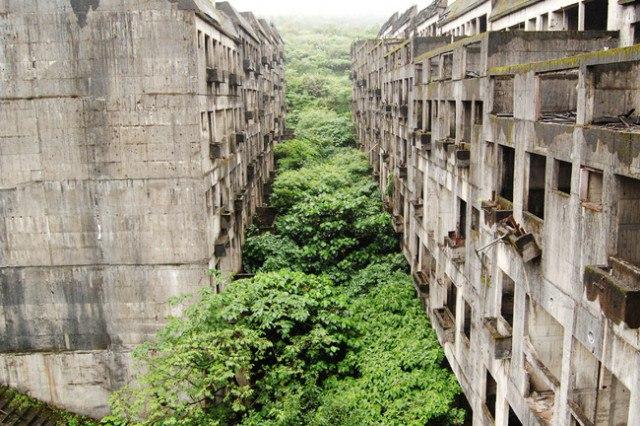 Земля после ядерной войны - заброшенные места планеты