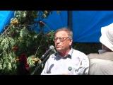 Поэт Юрий Михайлов на литературном фестивале