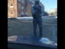 Шлеменко спас снегиря