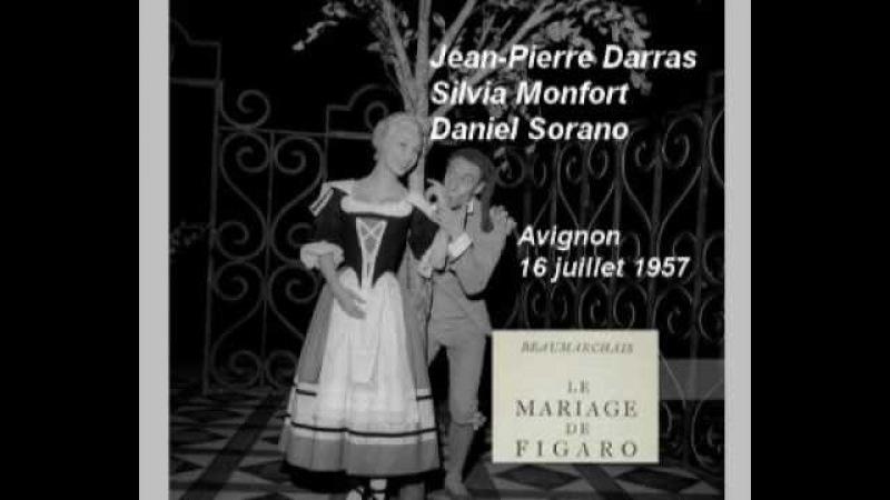 Le Mariage de Figaro : J.P Darras - Silvia Monfort - Daniel Sorano