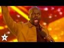 HILARIOUS Comedian Daliso Chaponda WINS GOLDEN BUZZER Britain's Got Talent 2017